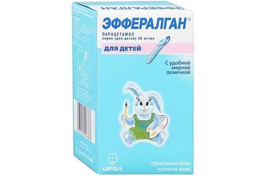 Эффералган: инструкция по применению, дозировка для детей, аналоги