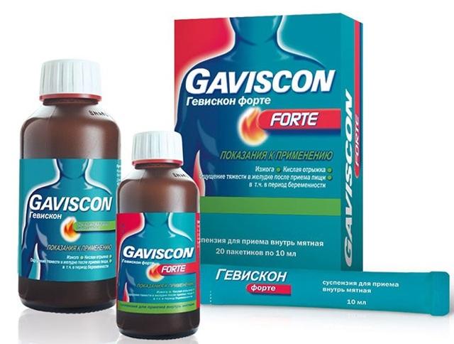 Гевискон Двойное действие в таблетках: инструкция по применению, аналоги