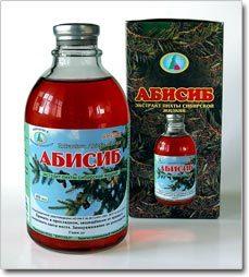 Экстракт Абисиб: инструкция по применению, аналоги пихтового сибирского Абисиб
